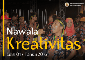 Bulletin Kreativitas 01/2016