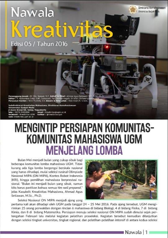 Buletin Kreativitas 05/2016