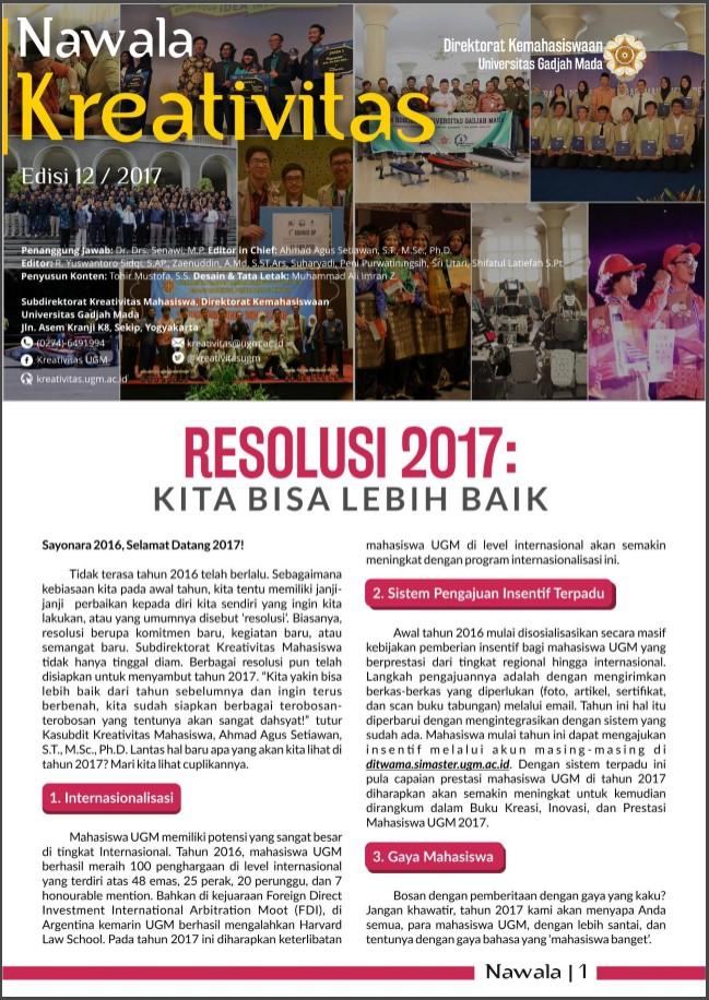 Buletin Kreativitas 12/2016